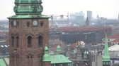 도시 : City beautiful skyline. Copenhagen, Denmark.