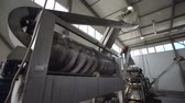 autoclave : Automatic line for the canning industry.Preserving of Vegetables and Beans. Cleaning Beans.