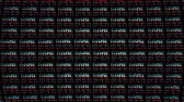 сигнал : GAME OVER Glitch Text Animation (3 Versions with Alpha Channel), Old Gaming Console Style, Rendering, Background, Loop Стоковые видеозаписи