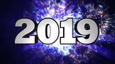 primórdios : 2019 New Year Animation Text, Background, Rendering, Loop