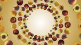 Falling PEACHES Animation, Fruits, Rendering, Background, Loop, with Alpha Channel, 4k
