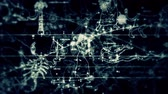 metaphysics : Camera flies through layers of hand-drawn astrological constellation and zodiac signs. Stock Footage