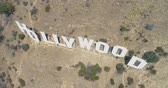 sinema : Aerial Drone View of the Hollywood Sign, California
