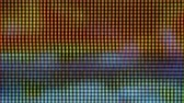 Abstract Digital Glitch Effect. Screen Monitor Pixels Close Up. Video Signal Damage With Pixel Closeup Noise And Error Interference. Glitch VHS Noise Background. Tv Error Black Screen