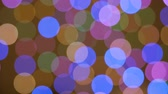 Abstract Blur Bokeh Bright Party Lights Glitter Defocused Background. Christmas New Year Background UHD 4K. Defocused Light Colorful Reflections Loopable Bokeh. Circles Colorful Wallpaper.
