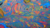 dönüşüm : Colorful Bright Bubbles Oil Beautiful Paint Universe Color Moving Multicolored. Acrylic Paint. Space Universe, Quantum Physics. Fantastic Hypnotic Surface. Metamorphosis Chemical Reaction.