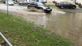 flooded road : Flooded city road with big puddle. . Thumbnail. Thumbnail. Thumbnail. Thumbnail. Thumbnail. Thumbnail. Thumbnail.