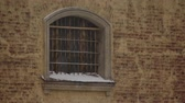 бдительность : Grille on window of city prison