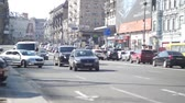 tourism : city traffic Stock Footage