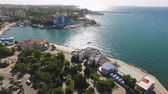 sevastopol : Sevastopol, Crimea-may 30, 2018: Air review of the citys attractions Stock Footage