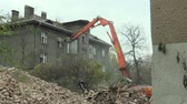 nonsense : PREROV, CZECH REPUBLIC, NOVEMBER 1, 2017: The house for the staff of the train station then the former Gypsy ghetto of Skodova Street in Prerov Demolition of a preserved historical building