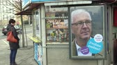 ridículo : OLOMOUC, CZECH REPUBLIC, JANUARY 24, 2017: Billboard in support of the candidacy Jiri Drahos in direct election to the President of the Czech Republic in 2018, cigarette smoking advertising