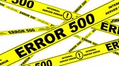 фехтование : ERROR 500. Yellow warning tapes