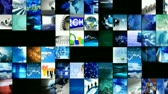 information : Animation of collage of digital technology in high definition