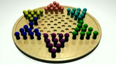 solitaire : 3d Chinese Checkers in HD Stock Footage