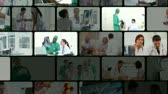 healthcare : Montage of people in the hospital