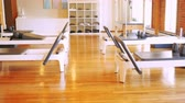 ginásio : Gym equipment in empty fitness studio