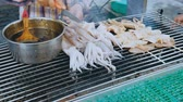 squid tentacles : Street Food In Kaohsiung Taiwan