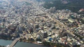 não urbano : Aerial View Of Houjin River , kaohsiung City At Taiwan