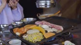 свинина : Korean Style Bbq at Restaurant
