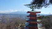 five : View Of Mount Fuji From Chureito Pagoda
