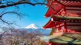 pagode : View Of Mount Fuji From Chureito Pagoda