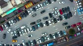 припаркован : Aerial View Of The Parking Lot In Taiwan
