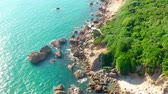 floresta : Aerial View Beautiful Coastline In Kaohsiung, Taiwan