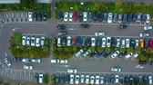 estacionamento : Aerial View Of The Parking Lot In Taiwan