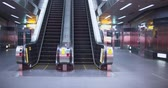用品 : Escalator Moving Up In Modern Building