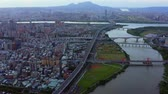 arranha céus : Aerial View Of Taipei Taiwan