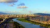 地区 : Aerial View Of Taipei Taiwan