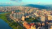 бизнес : Aerial View Of Taipei Taiwan