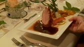 dines : Catering Stock Footage