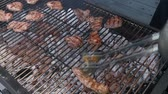 banger : Barbeque Stock Footage