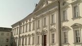 política : video footage of the Bellevue Palace in Berlin, Germany (Schloss Bellevue)