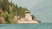 flank : video footage of the lake garda in Italy