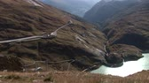 barreira : video footage of a barrier lake near the mountain Grossglockner in Austria in the alps