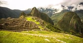 4K Timelapse ? Machu Picchu in Peru - video footage