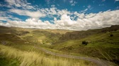 southamerica : video footage (4K Timelapse) of a Andes landscape in Peru near Cusco