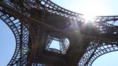 value : Video footage of the Eiffel Tower in Paris, France on a sunny day