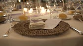 рестораны : table tiling at the wedding at the restaurant