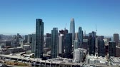 sf : San Francisco, California, aerial video Stock Footage