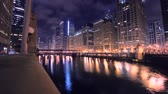 Chicago Timelapse at Night Dostupné videozáznamy