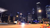 Chicago at Night Timelapse