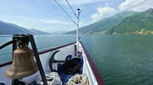 mere : Lake Como (Italy) summer  view from ship board
