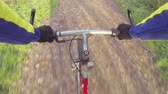 perspectiva : Riding Mountain Bike, punto de vista personal