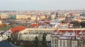 most : Panoramic View of Prague with Charles Bridge