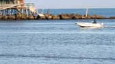 longo : Boat on the Water Stock Footage