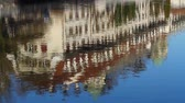 на крыше : House Facade reflected into Aare River